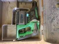 Hitachi cordless drill 24v sds drill
