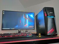 VR Gaming Computer PC Setup (Intel i5, GTX 1070)