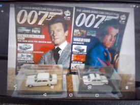 James Bond Car Collection