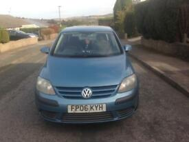 Vw golf plus tdi up for swap