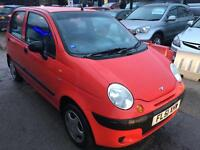 Daewoo Matiz 0.8 SE Hatchback 5dr Petrol Manual VERY GOOD ENGINE,STUNNING