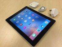 Black Apple iPad 4 32GB - Wifi Model - Ref: 12
