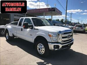 2011 Ford F-350 XLT diesel 6x6 bud wheel 6 places