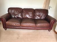 Natuzzi Italian leather sofa great condition can deliver
