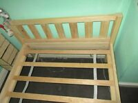Single 3ft pine bedframe