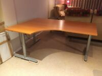 Ikea Office Desk and Filing Cabenet unit