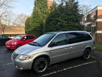 Chrysler voyager stow and go 2.8 diesel automatic
