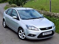 2009! FORD FOCUS ZETEC 1.8 TDCI 115 - WITH SPORTS PACK - 12 MONTHS MOT -FULL SERVICE HISTORY -2 KEYS