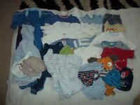 Bundle of baby clothes 3 months to a year