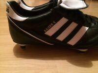 Adidas football boots size 10 kaiser 5