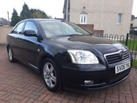 2006 Toyota Avensis 1.8 T3-X Automatic 5dr Hatch FSH