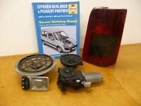 Car parts for Peugeot Partner/Citreon Berlingo