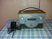 Roberts FM RDS/DAB RDS Radio Mains Powered