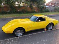 1975 Chevrolet Corvette C3 Stingray 5.7L V8 - Rare 4 Speed Manual, L82