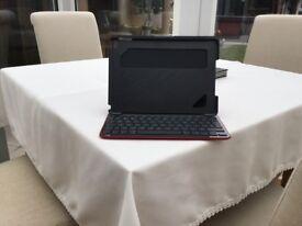 Logitech iPad cover and wireless keypad