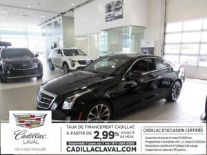 2016 Cadillac ATS COUPE PREMIUM 2.99 % TOIT NAVIGATION TURBO
