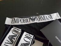 MENS ARMANI Boxer Shorts Underwear 3pack Size L