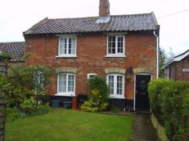 3 bedroom detached character cottage to let in Beccles