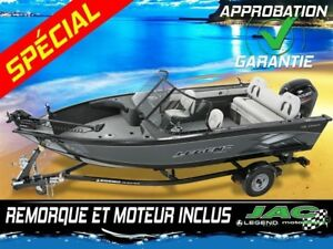 2016 Legend Boats Bateau 18 Xtreme Mercury 50 Chaloupe pêche **P
