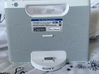 Sony make Personal audio docking station compatable with I phones etc