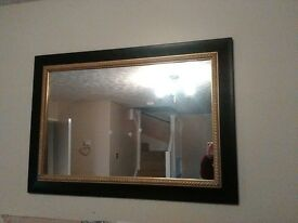 black&gold mirror £40