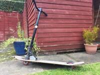 Razor skateboard scooter