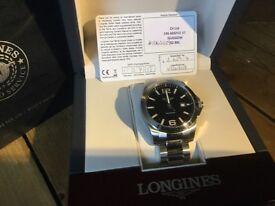 Longines 300m conquest watch. 100% genuine