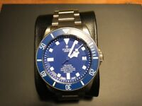 Tudor Pelagos Blue with in-house movement. All papers and box. 25600TB