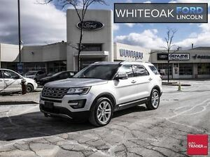 2017 Ford Explorer Limited, CERTIFIED PRE-OWNED, EXT WARR.