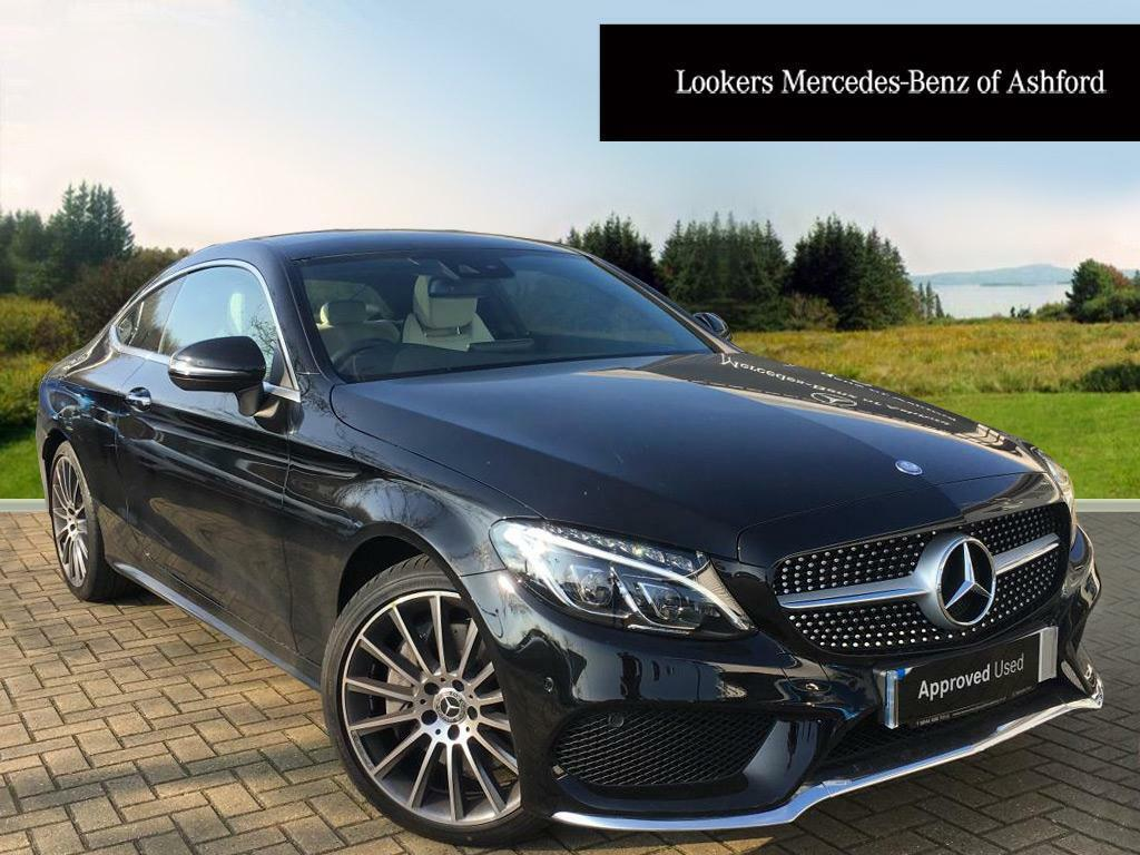 Mercedes benz c class c 250 d amg line premium plus black for Mercedes benz e class 2017 black