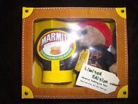 Limited edition Marmite Paddington Bear gift set