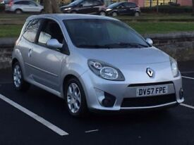 2008 RENAULT TWINGO 1.2 GT * 3 DOOR * LONG MOT * PART EX * DELIVERY * FINANCE * NOT CLIO 207 C2 *