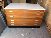 6 DRAWER QUALITY PLAN CHEST 1300mm