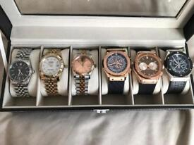 Rolex & Hublot Top Quality Automatic Watches