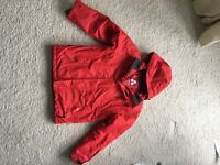 Boys Red Tog24 Ski Jacket, age 11-12.