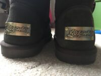 Kvd Los Angeles's boots