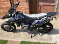 Wr 125 x miles only 9700