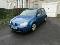 VW Golf Mk5 GT 2.0 FSI 5 Door for sale Low Milage FSH
