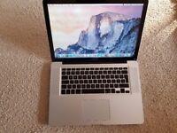 15 inch macbook pro vgc warranty