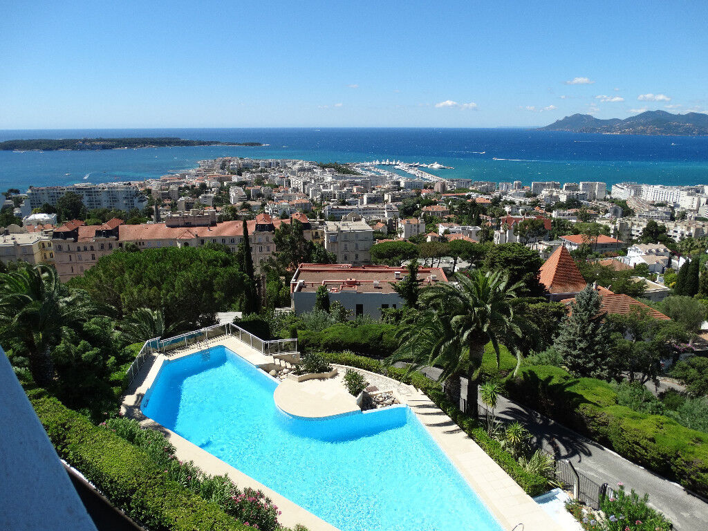 FRENCH RIVIERA - CANNES - FOR SALE TOP FLOOR 153 sqm SEA VIEW APARTMENT