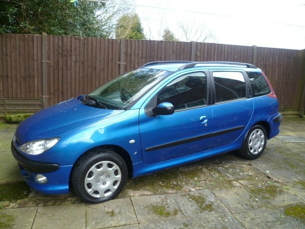 2005 Peugeot 206 Sw 1 4 Hdi Estate Diesel 163 30 A Year