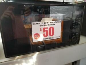 SAVE !!!!!! MICROWAVES SCRATCH AND DENT / NOT USED