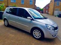 Renault grand scenic 7 seats 1.9 dci 2008 automatic gearbox 12 months mot 2 key full service history