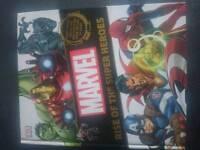 MARVEL rise of the superheroes HARDBACK