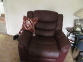 Riser/recliner/heat/massage chair