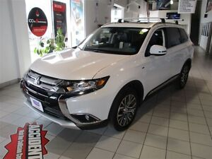 2016 Mitsubishi Outlander GT - $101/wk leather, heated, 7 pass,