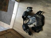 Motor cross chest protector
