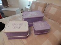 SET OF 3 NEXT CHILDREN STORAGE BOXES
