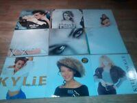 "39 x kylie vinyl collection lps/ 12""/ 7"" / picture disc / promo / - rare"
