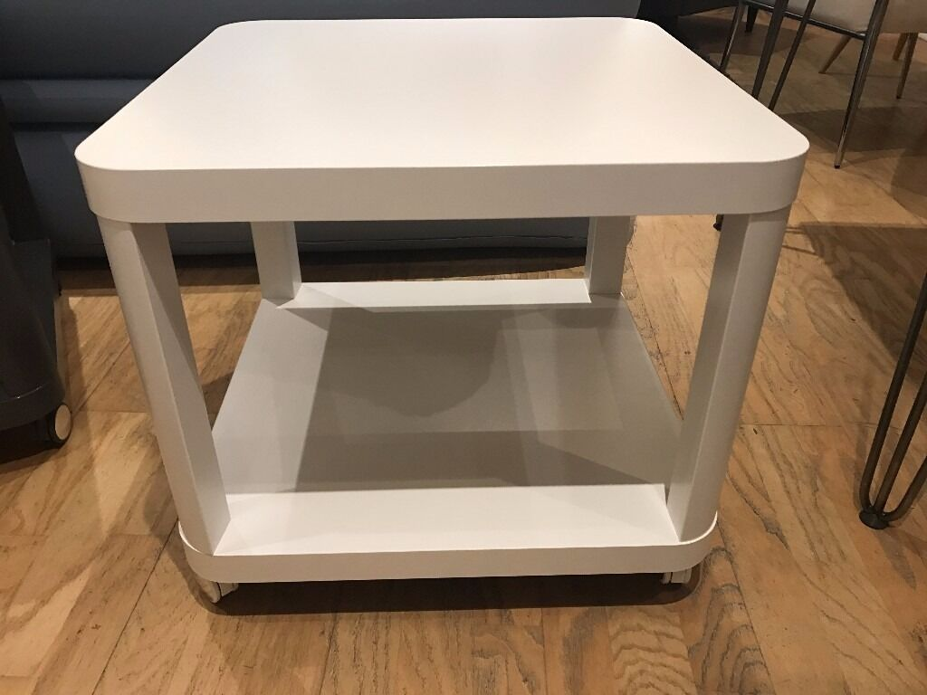 white coffee table 50cm x 50 cm ikea tingby collect